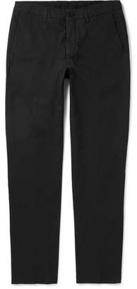 Dunhill Slim-Fit Stretch-Cotton Chinos - Black