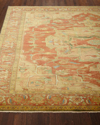 """Horchow Exquisite Rugs Tribute Medallion Runner, 2'6"""" x 8'"""