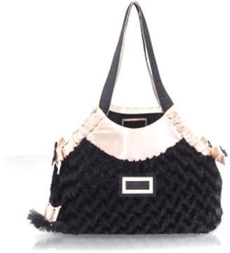 Black Fur Bag - ShopStyle UK 3d08d7ddf0