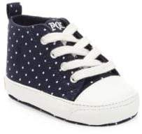 Ralph Lauren Baby's Hamptyn Pin Dot Sneakers