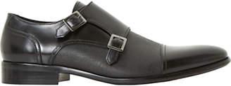 Dune Prodigy Leather Shoes, Black