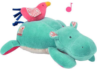 Moulin Roty Musical Plush Hippo