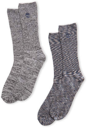 Timberland Two-Pack Space-Dye Boot Socks
