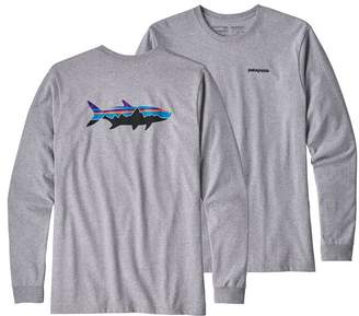 Patagonia Men's Long-Sleeved Fitz Roy Tarpon Responsibili-Tee®