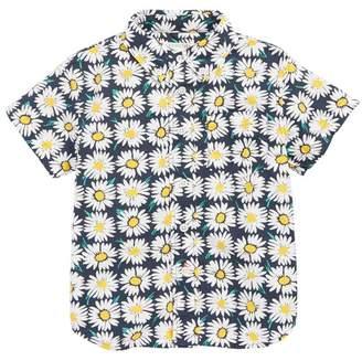 crewcuts Stretch Poplin Button Down Shirt (Toddler Boys, Little Boys & Big Boys)