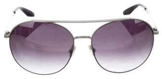 Barton Perreira Gradient Aviator Sunglasses