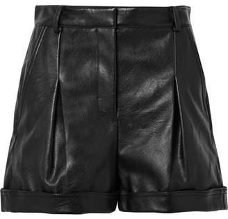 Stella McCartney Danielle Faux Leather Shorts - Black