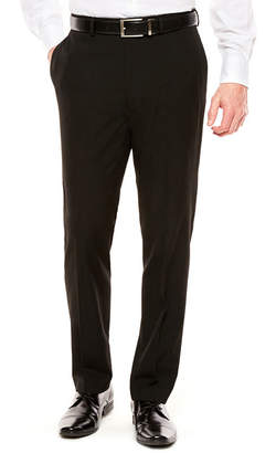 Van Heusen Men's Flex Stretch Hemmed-Leg Slim-Fit Suit Pants