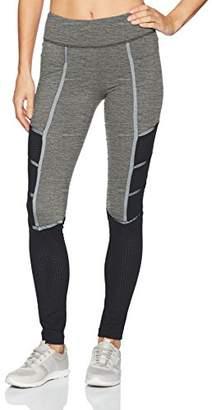 Blanc Noir Women's Active Legging with Contrast Mesh