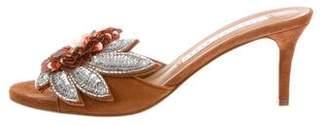 Veronica Beard Nev Fine Embellished Sandals w/ Tags