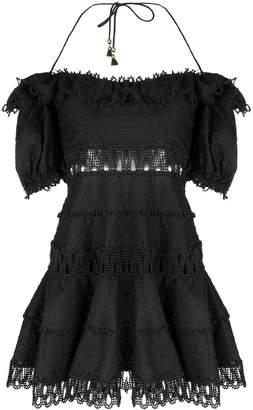 Zimmermann off-the-shoulder short dress