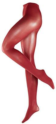 Falke Women's Pure matt 50 DEN Tights, Rot (Cayenne 5950), 3.5