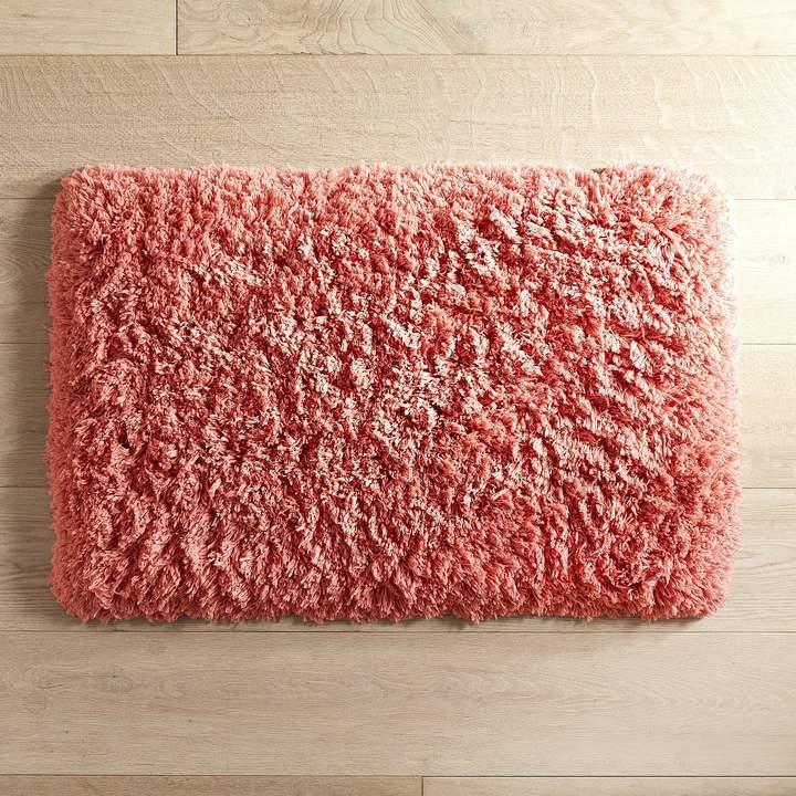 Cloud Step Memory Foam Coral 27x45 Bath Rug