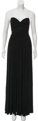 Michael Kors Strapless Maxi Dress