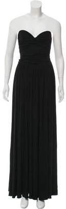Michael Kors Strapless Maxi Dress