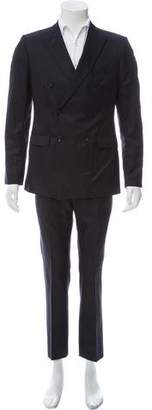 Calvin Klein Collection Virgin Wool Blend Double-Breasted Suit