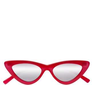 8591c55b42 Le Specs Adam Selman X Luxe Lolita 49mm Cat Eye Sunglasses
