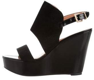 Robert Clergerie Platform Wedge Sandals