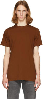 Rick Owens Brown Level T-Shirt
