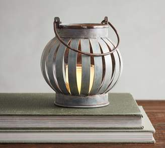 Pottery Barn Barrel Votive Lantern