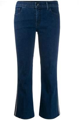 J Brand side stripe bootcut jeans