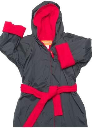 Rappco Waterproof Hooded Toweling Robe 10+ Yrs