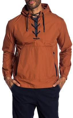 NATIVE YOUTH Yosemite Lace-Up Hoodie