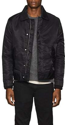 Officine Generale Men's Tech-Satin Bomber Jacket