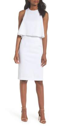 Chelsea28 Popover Crop Sheath Dress