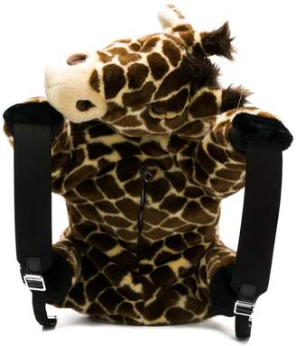 Dolce & Gabbana faux fur giraffe backpack