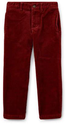 Ralph Lauren Suffield 10-Wale Corduroy Pants, Red, Size 2-4