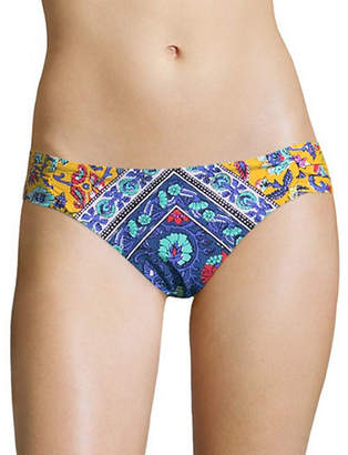 Nanette Lepore Siren Shirred Swim Bottoms