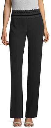 Nanette Lepore Women's Penelope Straight-Leg Pants