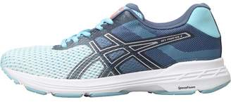 Asics Womens Gel Phoenix 9 Stability Running Shoes Porcelain Blue/Silver/Flash Coral