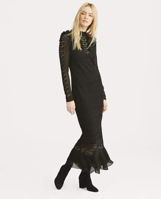 Ralph Lauren Pointelle-Stitched Dress