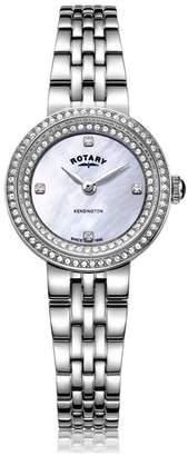 Rotary Watches Stainless Steel Kensington Ladies
