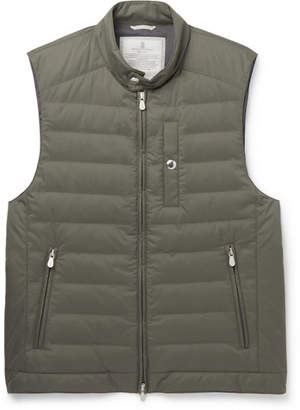Brunello Cucinelli Quilted Shell Gilet