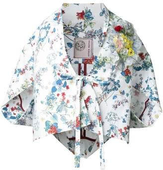 Antonio Marras floral print kimono