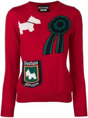 Moschino Scottish knit jumper