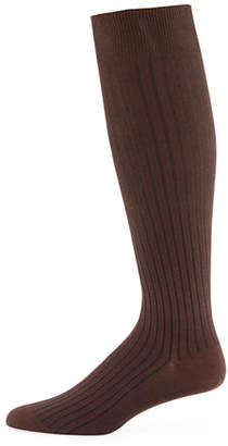Neiman Marcus Core-Spun Socks, Over-the-Calf