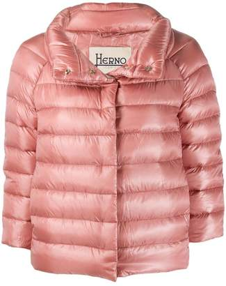 Herno high-neck down jacket