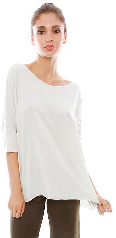 Feel The Piece Tiger Tee in Parchment