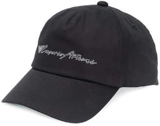 Emporio Armani logo printed baseball cap