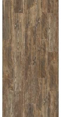 Welles Hardwood SAMPLE-Tampico Ceramic Wood Look Tile in Dark Brown