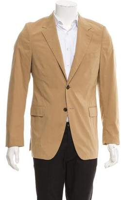 Prada Wool Blend Two-Button Blazer