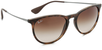 Ray-Ban Erika Sunglasses $140 thestylecure.com