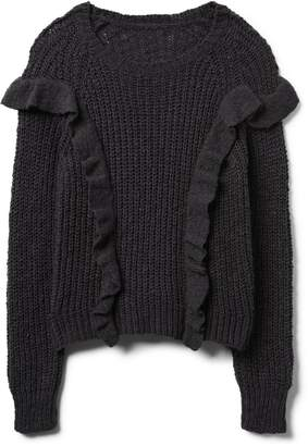 Crazy 8 Crazy8 Ribbed Ruffle Sweater