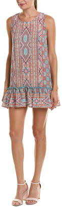 Tolani Gemina Silk Shift Dress