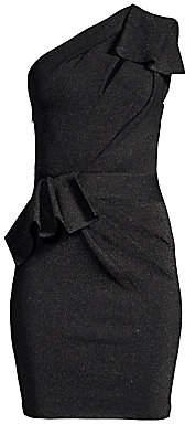 Herve Leger Women's One-Shoulder Cocktail Dress