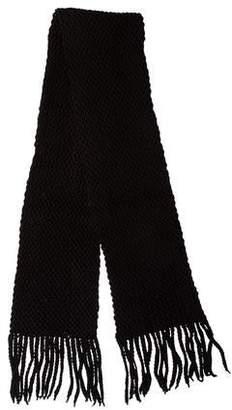 Givenchy Wool Fringe Scarf